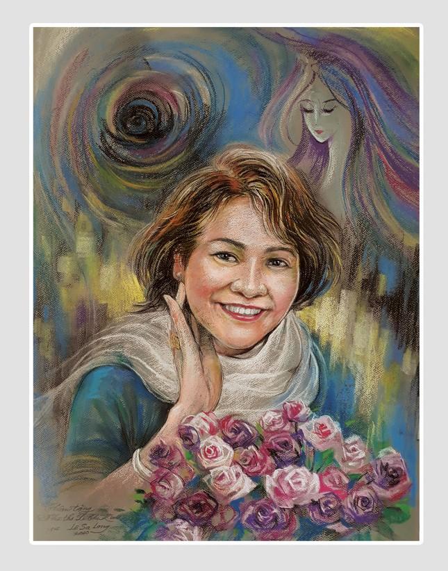 Ngày thơ, ngắm chân dung các nhà thơ tên tuổi Việt Nam qua tranh ký họa ảnh 12
