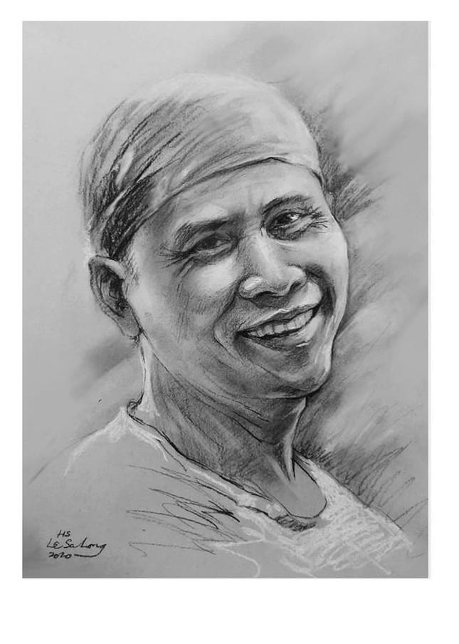 Ngày thơ, ngắm chân dung các nhà thơ tên tuổi Việt Nam qua tranh ký họa ảnh 10