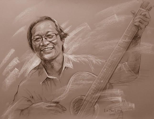 Ngày thơ, ngắm chân dung các nhà thơ tên tuổi Việt Nam qua tranh ký họa ảnh 2