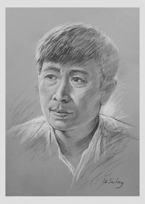 Ngày thơ, ngắm chân dung các nhà thơ tên tuổi Việt Nam qua tranh ký họa ảnh 11