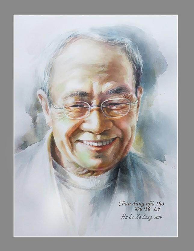 Ngày thơ, ngắm chân dung các nhà thơ tên tuổi Việt Nam qua tranh ký họa ảnh 9