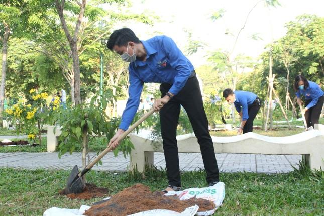 Bạn trẻ thành phố Thủ Đức ra quân trồng hàng ngàn cây xanh ảnh 3