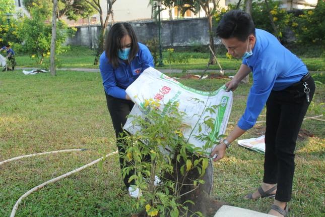 Bạn trẻ thành phố Thủ Đức ra quân trồng hàng ngàn cây xanh ảnh 4