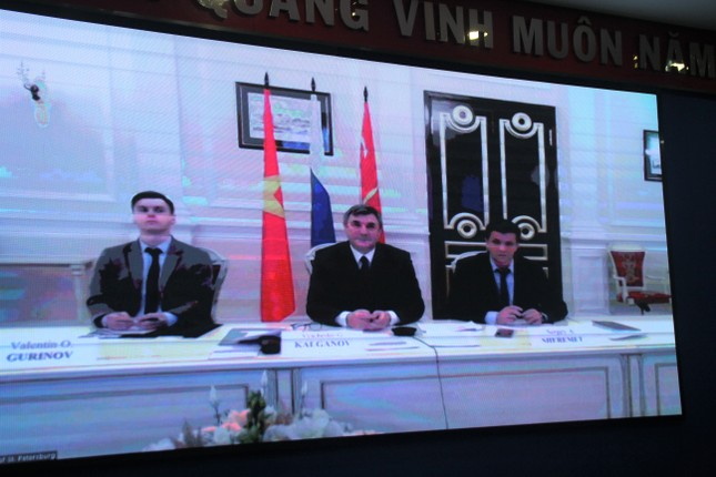 Thành Đoàn TPHCM trao đổi trực tuyến với Ủy ban Đối ngoại thành phố Saint-Petersburg ảnh 3