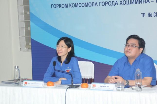 Thành Đoàn TPHCM trao đổi trực tuyến với Ủy ban Đối ngoại thành phố Saint-Petersburg ảnh 2
