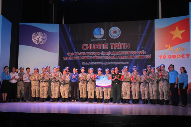 Tâm sự của chiến sỹ 'mũ nồi xanh' trước ngày lên đường sang Nam Sudan làm nhiệm vụ ảnh 7