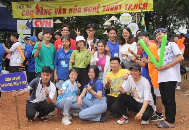 Bạn trẻ TPHCM sôi nổi trải nghiệm tại Hội trại 'Tự hào nòi giống Tiên Rồng' năm 2021 ảnh 8