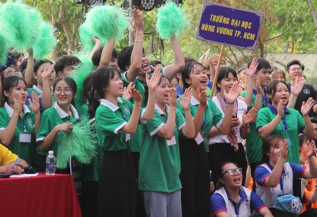 Bạn trẻ TPHCM sôi nổi trải nghiệm tại Hội trại 'Tự hào nòi giống Tiên Rồng' năm 2021 ảnh 6