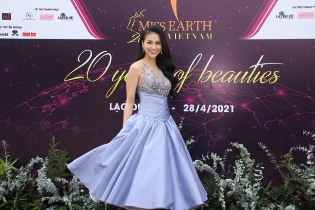 Hoa hậu Hà Kiều Anh cùng dàn người đẹp khoe sắc dự khởi động Miss Earth Vietnam 2021 ảnh 4