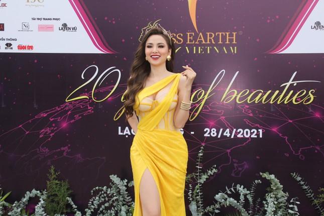 Hoa hậu Hà Kiều Anh cùng dàn người đẹp khoe sắc dự khởi động Miss Earth Vietnam 2021 ảnh 16