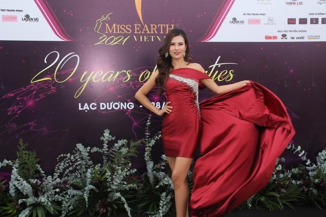 Hoa hậu Hà Kiều Anh cùng dàn người đẹp khoe sắc dự khởi động Miss Earth Vietnam 2021 ảnh 9