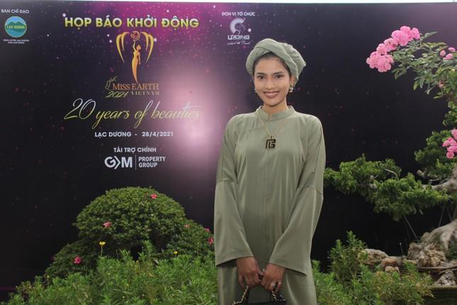 Hoa hậu Hà Kiều Anh cùng dàn người đẹp khoe sắc dự khởi động Miss Earth Vietnam 2021 ảnh 7