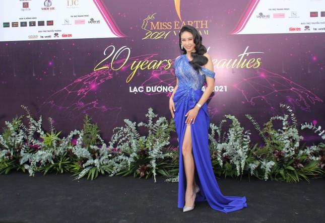 Hoa hậu Hà Kiều Anh cùng dàn người đẹp khoe sắc dự khởi động Miss Earth Vietnam 2021 ảnh 2