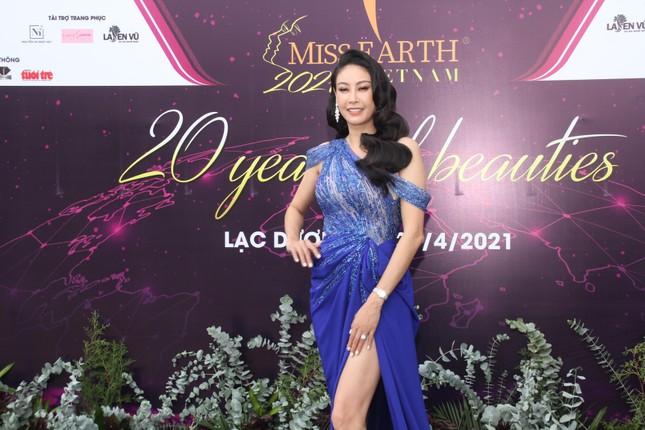 Hoa hậu Hà Kiều Anh cùng dàn người đẹp khoe sắc dự khởi động Miss Earth Vietnam 2021 ảnh 1