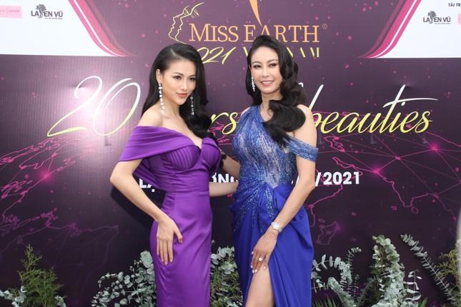 Hoa hậu Hà Kiều Anh cùng dàn người đẹp khoe sắc dự khởi động Miss Earth Vietnam 2021 ảnh 6