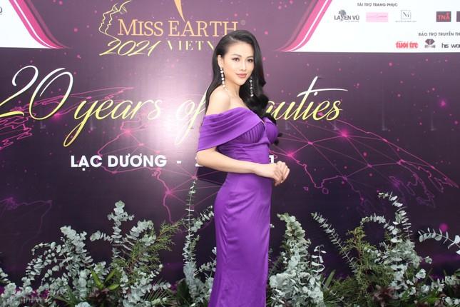 Hoa hậu Hà Kiều Anh cùng dàn người đẹp khoe sắc dự khởi động Miss Earth Vietnam 2021 ảnh 5