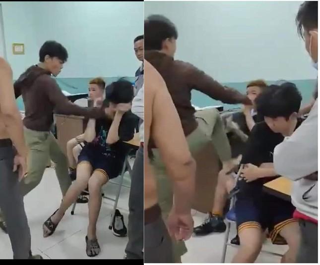 Hiệu trưởng trường Nguyễn Văn Tố giải trình vụ hai thiếu niên bị đánh trong phòng giám thị ảnh 1