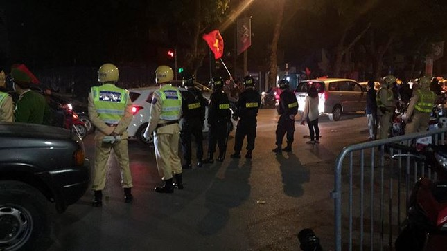 Tăng cường 15 tổ 141 chống đua xe trái phép sau trận U23 Việt Nam ảnh 1