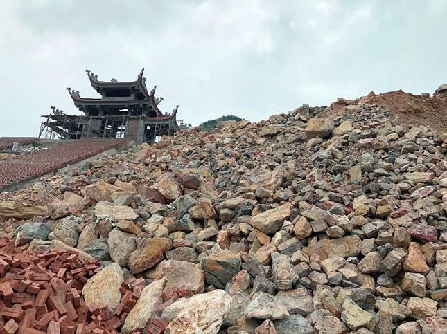Cận cảnh siêu dự án 'bạt núi' làm du lịch ở Lũng Cú vừa bị đình chỉ ảnh 11