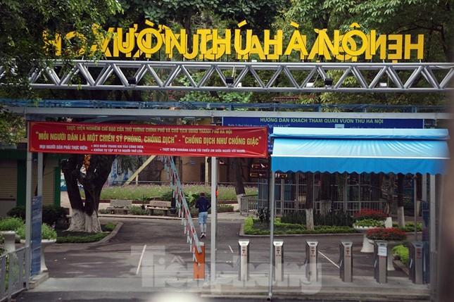 Công viên ở Hà Nội đồng loạt đóng cửa để cách ly toàn xã hội ảnh 6