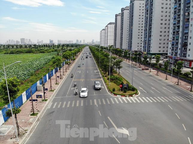 Hàng loạt cây xanh chết khô trên đường 'nghìn tỷ' ở Hà Nội ảnh 1