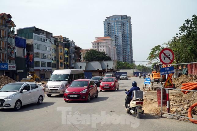 Đường Nguyễn Văn Huyên sắp có cầu vượt giải phóng điểm đen ùn tắc ảnh 10