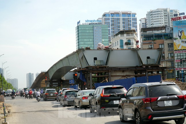 Đường Nguyễn Văn Huyên sắp có cầu vượt giải phóng điểm đen ùn tắc ảnh 7