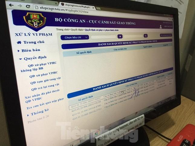 Hàng nghìn lượt vi phạm, chỉ một người nộp phạt qua mạng ở Hà Nội ảnh 2