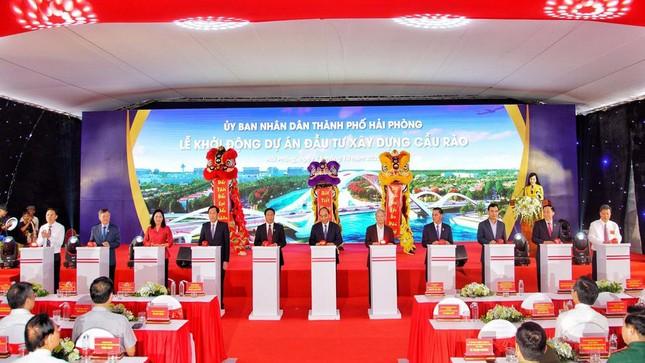 Thủ tướng dự lễ khởi động, khánh thành 2 dự án trọng điểm ở Hải Phòng ảnh 10
