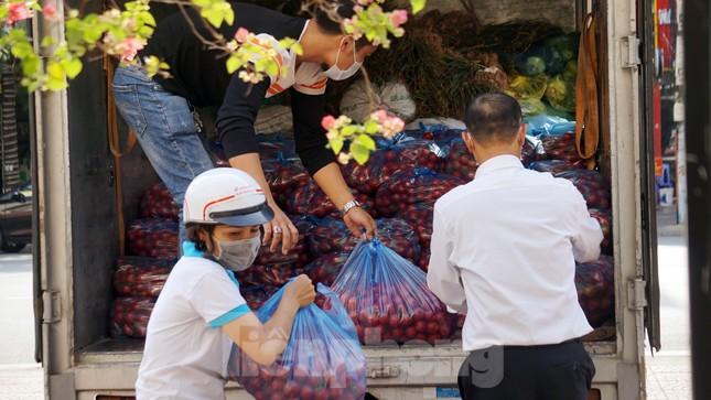 Nữ giáo viên cùng bạn giải cứu hàng chục tấn nông sản huyện Tiên Lãng ảnh 2