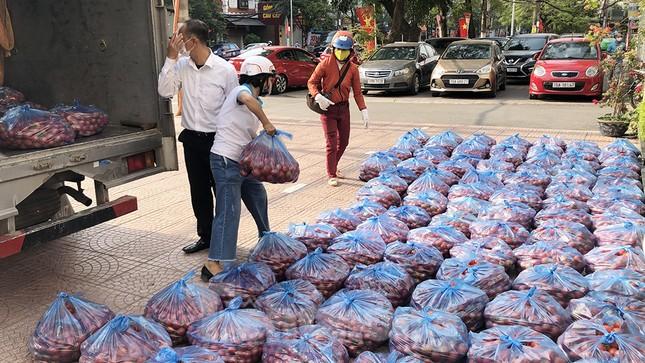 Nữ giáo viên cùng bạn giải cứu hàng chục tấn nông sản huyện Tiên Lãng ảnh 1
