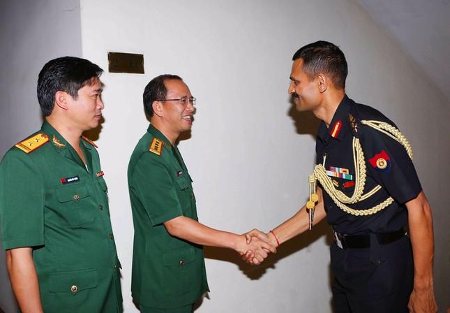 Giao lưu sĩ quan trẻ Việt Nam - Ấn Độ ảnh 3