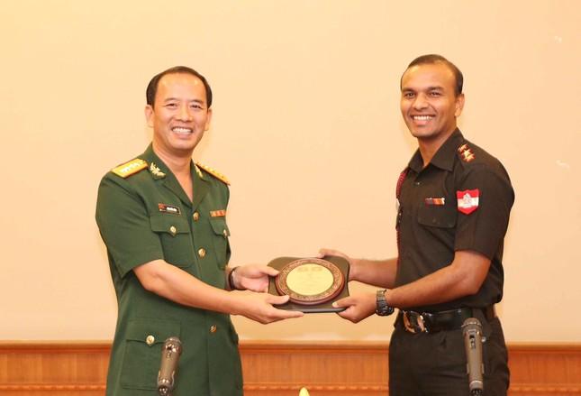 Giao lưu sĩ quan trẻ Việt Nam - Ấn Độ ảnh 1