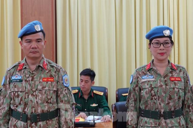 Thêm 2 sĩ quan Việt Nam đi gìn giữ hòa bình thế giới ảnh 1