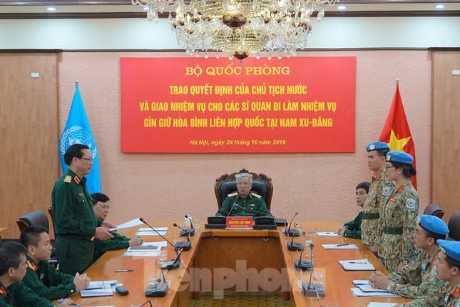 Thêm 2 sĩ quan Việt Nam đi gìn giữ hòa bình thế giới ảnh 3