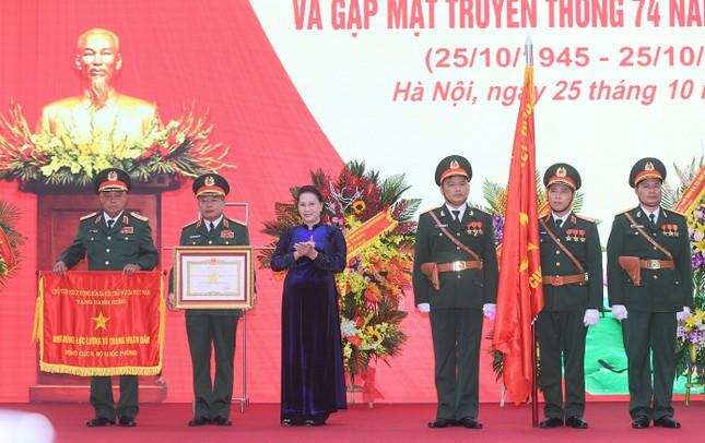 Tổng cục 2 đón nhận danh hiệu Anh hùng lực lượng vũ trang nhân dân ảnh 1