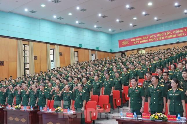 Học viện Kỹ thuật Quân sự xây dựng nhà trường thông minh ảnh 1