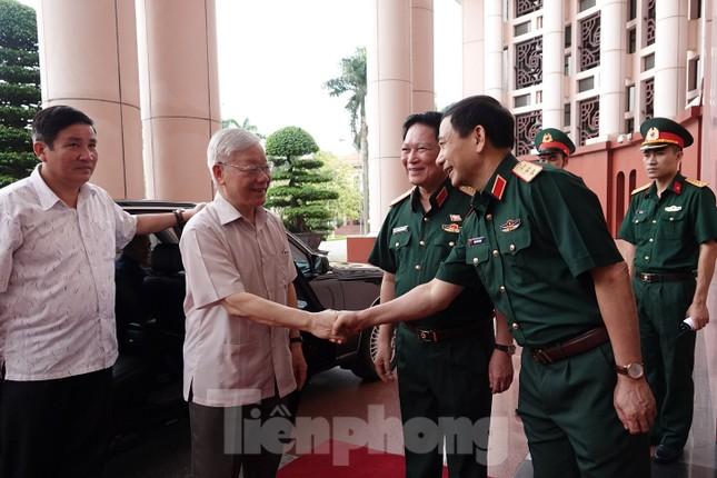 Tổng Bí thư Nguyễn Phú Trọng: Không che giấu khuyết điểm, chạy theo thành tích ảnh 3