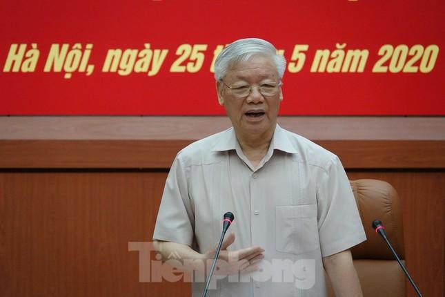 Tổng Bí thư Nguyễn Phú Trọng: Không che giấu khuyết điểm, chạy theo thành tích ảnh 1