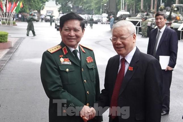 Tổng Bí thư, Chủ tịch nước Nguyễn Phú Trọng dự và chỉ đạo Đại hội Đảng bộ Quân đội ảnh 1