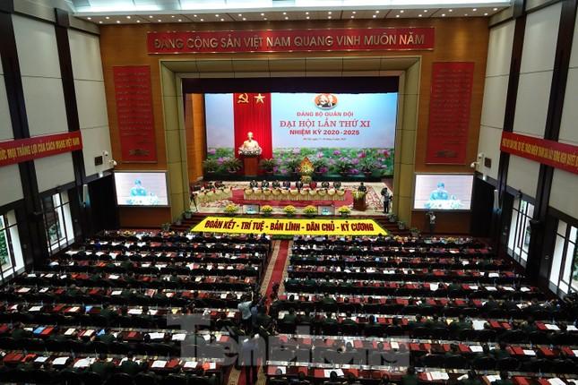 Tổng Bí thư, Chủ tịch nước Nguyễn Phú Trọng dự và chỉ đạo Đại hội Đảng bộ Quân đội ảnh 6