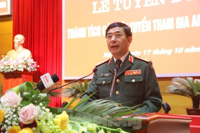 Bộ Quốc phòng tuyên dương thành tích các đội tuyển tham gia Army Games 2020 ảnh 2