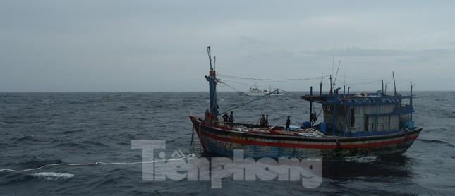 Thêm 2 tàu kiểm ngư chi viện tìm kiếm 26 ngư dân mất tích ở vùng biển Khánh Hoà ảnh 1