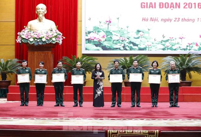 Quân đội tuyên dương điển hình vì sự tiến bộ của phụ nữ và bình đẳng giới ảnh 6