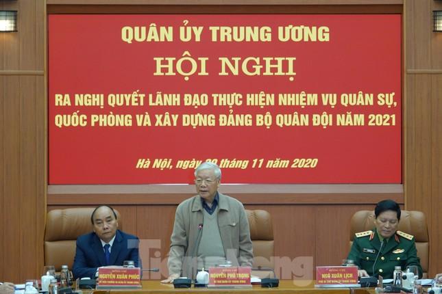 Tổng Bí thư chủ trì hội nghị Quân ủy Trung ương ảnh 2