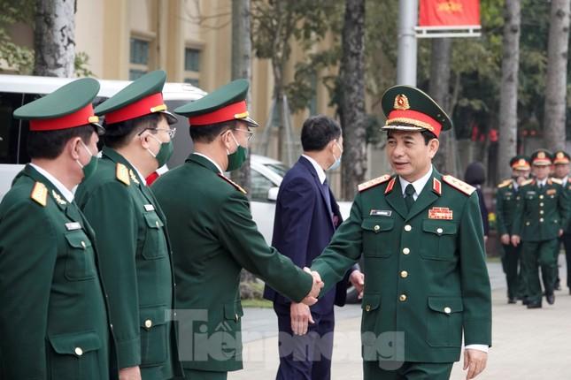 Thượng tướng Phan Văn Giang giao nhiệm vụ đầu xuân cho BTL Bảo vệ Lăng ảnh 6