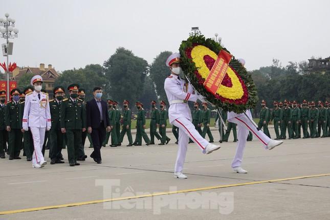 Thượng tướng Phan Văn Giang giao nhiệm vụ đầu xuân cho BTL Bảo vệ Lăng ảnh 8