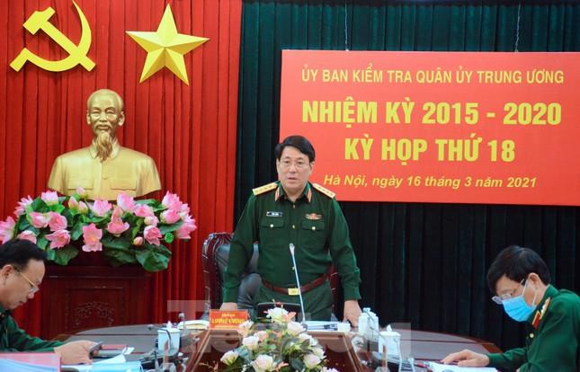 Ủy ban Kiểm tra Quân ủy T.Ư đề nghị thi hành kỷ luật 10 quân nhân ảnh 1