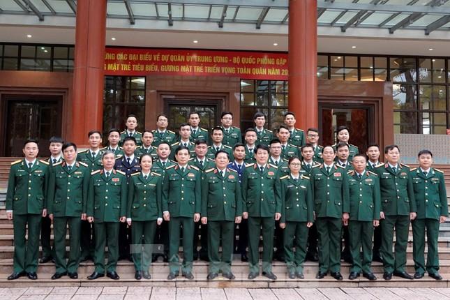 Quân ủy Trung ương - Bộ Quốc phòng biểu dương điển hình trẻ tiêu biểu toàn quân ảnh 4