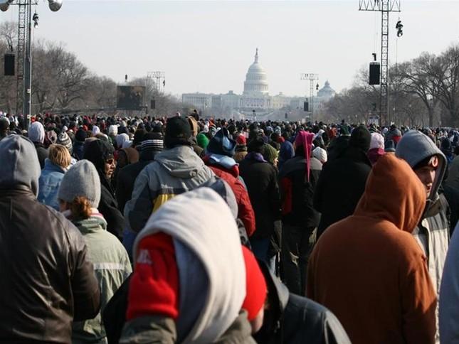 'Luther King mỉm cười' trongLễ nhậm chức củaObama ảnh 2